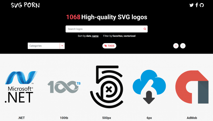 SVG Pornのスクリーンショット